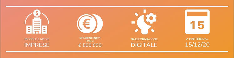Bando Digital Transformation Infografica